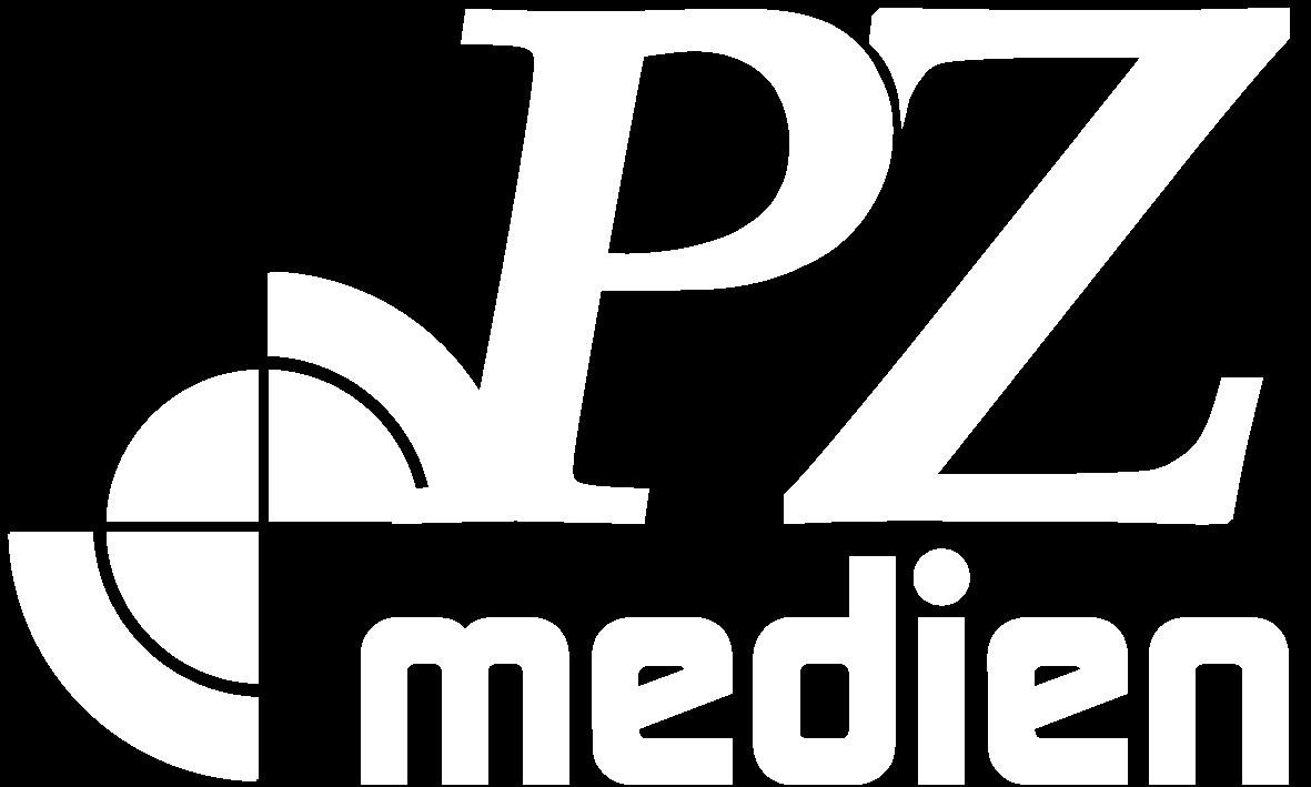PZ medien Logo weiß